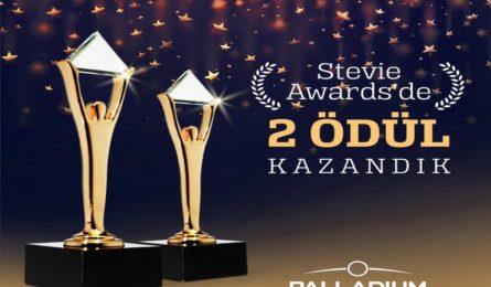 STEVİE AWARDS'DAN PALLADİUM ATAŞEHİR'E ÖDÜL !