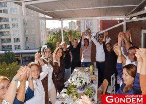 ATAŞEHİR DERNEKLERİ ORHAN ÇERKEZ'İ ZİYARET ETTİ