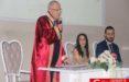 İlhami Yılmaz 14 Şubat'a özel nikah kıydı