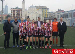 Ataşehirli sultanlardan beş golle gelen galibiyet