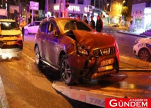 Ataşehir'de Kaza: İki Yaralı