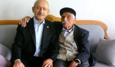 CHP  Genel Başkanı Kemal Kılıçdaroğlu'nun amcası vefat etti