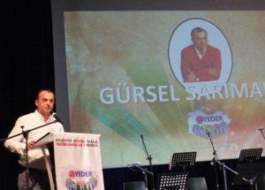 """Gürsel Sarımaden: """"Türkülerle kalın türkülerle yaşayın"""""""
