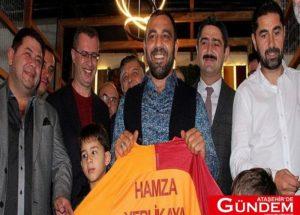 Hamza Yerlikaya Spor Salonu Açıldı